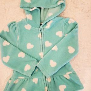 4for$20!! Old Navy fleece hoodie 2T